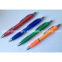 Plastic Ballpen Rubber Pen Promotional Pen Printing Logo Pen (P3010A)