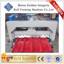 Máquina formadora de chapa de aço, máquina formadora de painel de aço, máquina formadora de plataforma de telhado