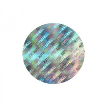venda por atacado etiqueta de etiqueta de holograma de vinil personalizado