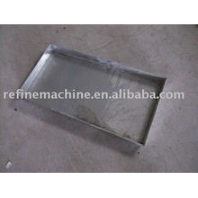 Stainless steel dish
