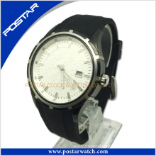 Classic and Hot Selling Swiss Style Genuine Leather Water Resistant Quartz Watch