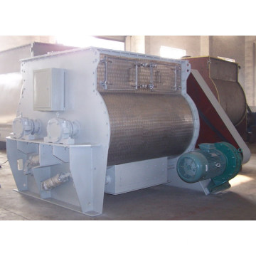 Horizontal Dry Powder Ribbon Mixer