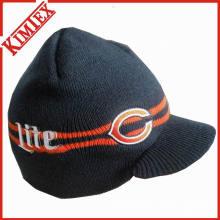 Unisex Promoção inverno malha chapéu com viseira