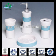 Caja cerámica del tocador del cuarto de baño del cepillo de dientes