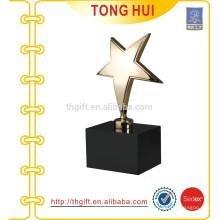 Boules de trophées décoratives en métal Star Star