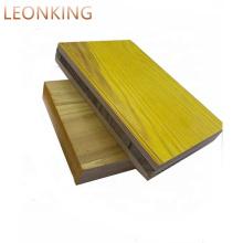 Phenolic 3 ply yellow Shuttering Panel supplier /LEONKING Triply Shuttering Panel formwork panels