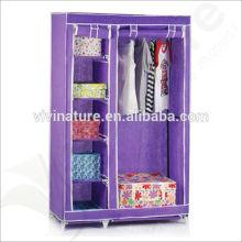 Casa útil fácil de tomar guarda-roupa \ Mulit-guarda-roupa do armário de armazenamento da roupa da lona da cor