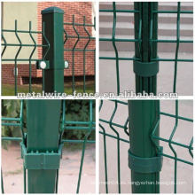 Plaza de acero galvanizado diseños de la granja postes de la cerca