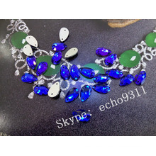 Loose Drop Sew on Flat Back Glass Stones (DZ-3065)