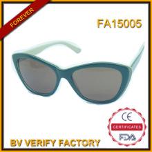 Fa15005 nueva fábrica de moda hecho a mano acetato gafas de sol polarizadas