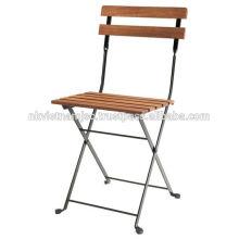 Juego de bistro al aire libre: 1 mesa, 2 sillas
