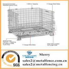 Стандарт евро складывая коробка хранения провода металла сетки