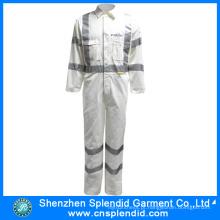 Atacado Hi Vis Workwear Algodão Protective Safety Coverall para Homens