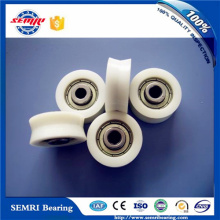 Door Windows Nylon Small Roller Plastic Pulley Wheels with Bearings