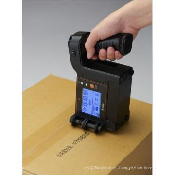 Pequeña impresora de inyección de tinta portátil para fecha de caducidad