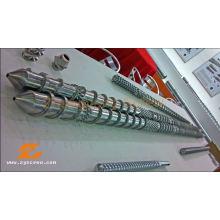 Tornillo y barril paralelos de la máquina del granulador del PVC del nitruro PE