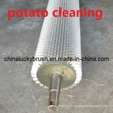Очистительная или полировальная щетка из полиамида толщиной 0,5 мм (YY-344)
