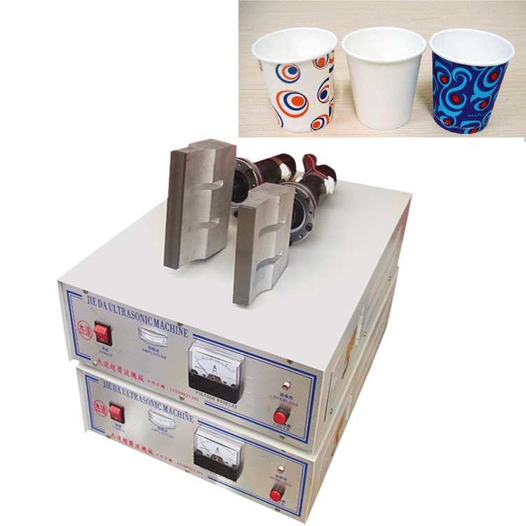 Ultrasonic System For Welding Paper Cup