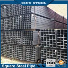 Tuyau carré revêtu de zinc prix d'usine / Q195-Q345 carré noir et tuyau en acier rectangulaire