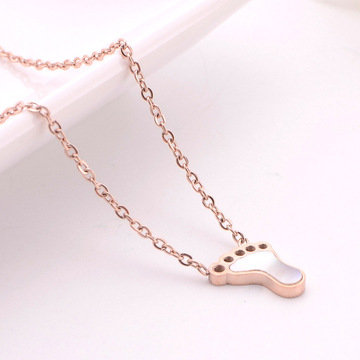 Mungil Rose Gold Mother Baby Jejak Kalung