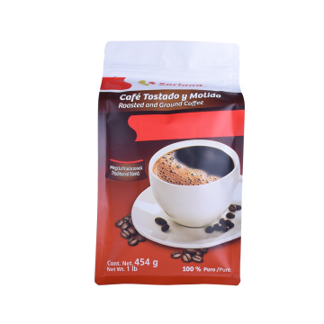 Eco Friendly Compostable Biodegradable Vacuum Seal Coffee Bags Packaging Bags