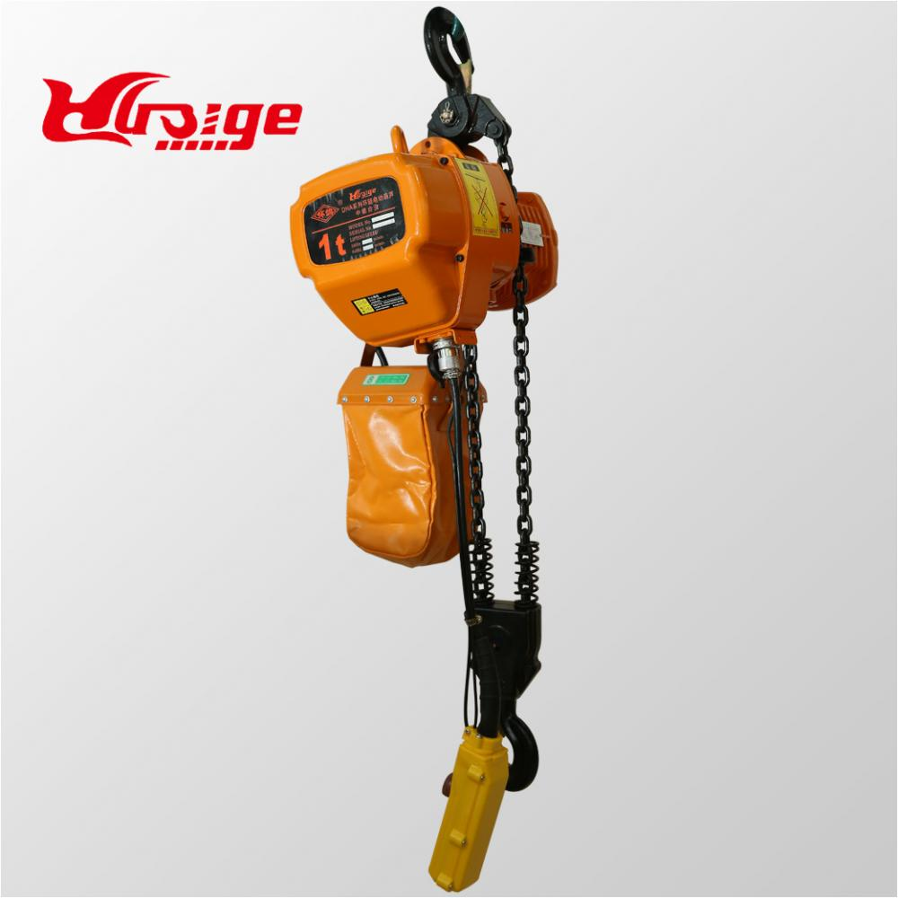 High quality electric chain hoist with remote control
