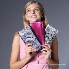 Nuevo patrón magenetico maquillaje cepillo bolsa cosmético cepillo bolsa