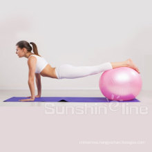 Stability Ball Premium Fitness Ball for Exercise Yoga Ball & Pilates Ball