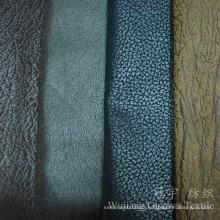 Decorative Bronzing Suede Leather Nubuck Fabric for Sofa