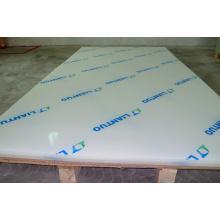 Placa de corte de plástico de polipropileno para máquina de corte e vinco