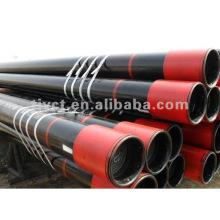 Coulée des tuyaux en acier