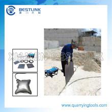 Bestlink Hydro / Steel Empujar la bolsa para el bloque de mármol