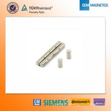 Imán de neodimio N42 D4 * 8 mm