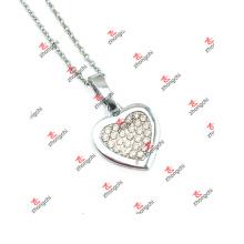 Collier de bijoux pour bijoux en cristal clair en alliage de mode (DLK60128)