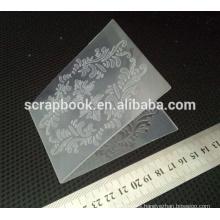 Hangzhou hot sale embossing folders clear folder for carding making