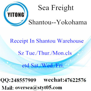 Shantou Port LCL Consolidation To Yokohama
