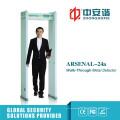 18 Detection Zones Court Intelligente Trennwand Sicherheit Digital Metal Detector