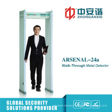 Partition Detection High Brightness LED Metal Detector Gate with Double Infrared Switch