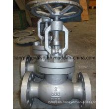 Válvula de globo de extremo de brida de acero al carbono 300 lbs