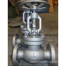 Válvula de globo de extremidade de flange de aço carbono 300lb