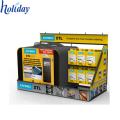 Factory Direct Produktion schönes Design 4C Druck recycelbaren Karton Handy-Ladegerät Zähler top Display-Stand