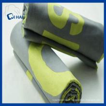 Full impressa toalha de praia de microfibra camurça (qhms009012)