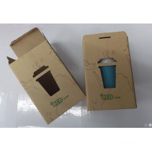 Craft Paper folding Box/Body Wash Product Packaging