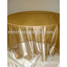 Toalhas de mesa tecido de cetim, toalha de mesa do hotel, toalha de mesa de restaurante