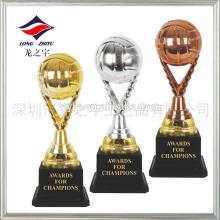 Troféu de troféu colorido troféu dourado