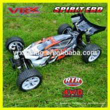 1:10th pilas RC coche, 4WD buggy, coche de carreras marca VRX.