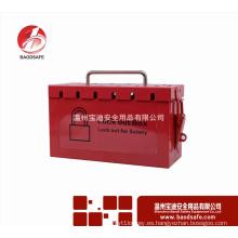 Wenzhou BAODSAFE BDS-X8601 Grupo bloqueo kit caja de candado de seguridad Rojo