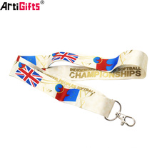 Wholesale Bulk Printing custom international flag lanyards