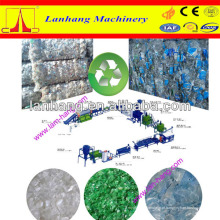 Linha de reciclagem de garrafas de resíduos de PET