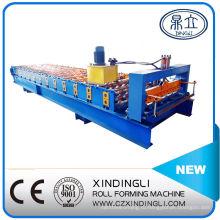 Профилегибочная машина для производства трапециевидных цветных стальных рулонов нового типа